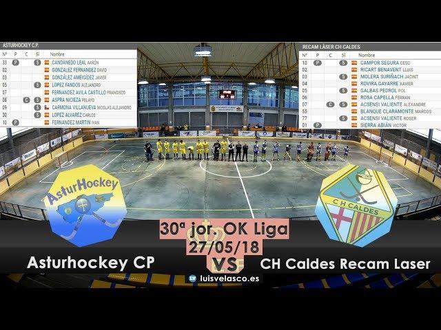 HIGHLIGHTS | Asturhockey CP - CH Caldes Recam Laser | OK Liga