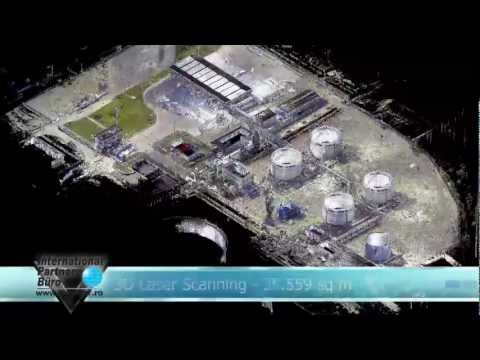 3D Laser Scanning - 3D Modelling-  Oil industry - process plant - Refinery