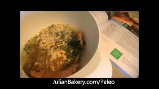 Turkey Basil Meatloaf Recipe  -omg That's Paleo?