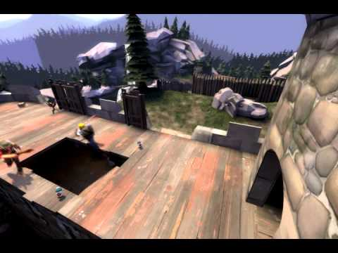 Team Fortress 2 Ultra Demos Jump With Chargin Targe Youtube