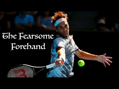Roger Federer - The Fearsome Forehand (Australian Open 2017)
