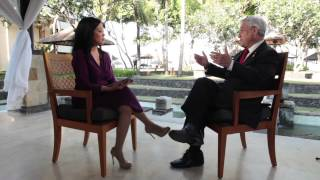 Chilean President Sebastian Piñera talks to Americas Now