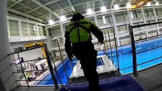 해양수산연수원 용당 해양플랜트종합훈련장 시운전, 바이킹…