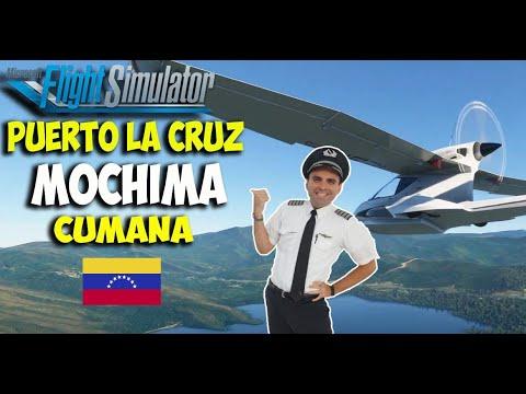 Puerto La Cruz (Barcelona), MOCHIMA y Cumana VENEZUELA en Flight Simulator 2020