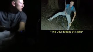 Exploring Haunted Forest : We got Lost and Captured Disturbing EVP'S !!!