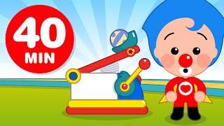 Pequeños Inventores - Y Más Capítulos de Plim Plim (40 Minutos)   Dibujos Animados