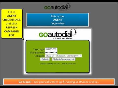 GoAutoDial Cloud Agent