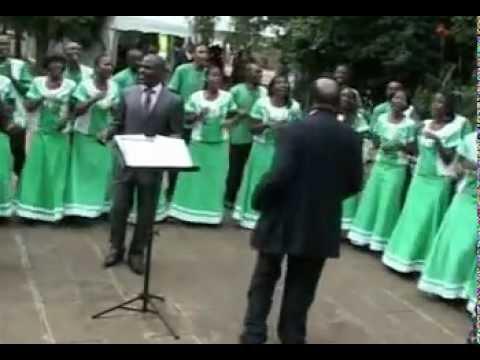 Moi University Choir .MPG