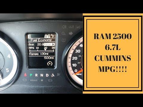 2018 RAM 6.7 CUMMINS MPG