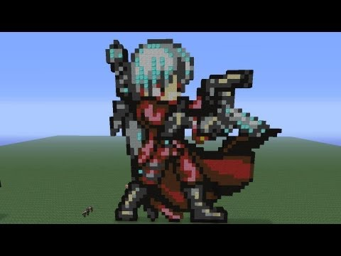 Minecraft Pixel Art: Dante Tutorial
