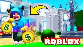 ROBBING A 1 BILLION DOLLAR MANSION IN ROBLOX!