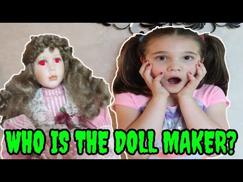 Who Is The Doll Maker? The Doll Maker Test! Come Play With Us!