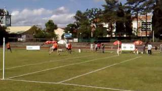 Punhobol/Faustball Sogipa x Widnau - Mundial Clubes 2009: Parte do Jogo