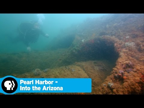 PEARL HARBOR - INTO THE ARIZONA | Sunken Relics Revealed | PBS