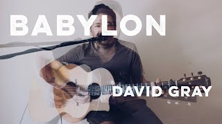 Babylon - David Gray acoustic duo cover
