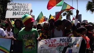 Police Beat Rasta To Death In South Africa.