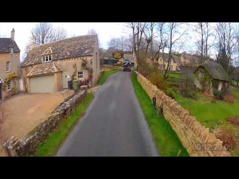 30 minutes of Virtual Scenery - Treadmill / Exercise Machine (Cotswolds UK)