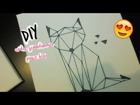 DIY : CADRES POUR LA CHAMBRE DE BÉBÉ ♡