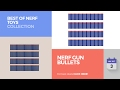 default - Yosoo 200pcs 7.2cm Refill Bullet Darts for Nerf N-strike Elite Series Blasters Kid Toy Gun