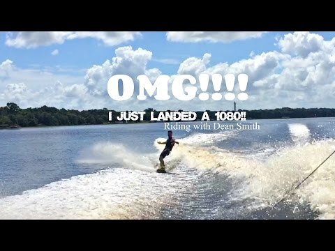 OMG I Landed a 1080!!! - Riding with Dean Smith