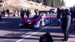 Pikes Peak 2013 Startline: Hiroshi Masuoka'S Mitsubishi Miev Evolution Ii