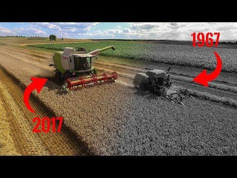 Im Wandel Der Technik │Lexion 620 und Claas Kolumbus │50 Jahre Claas