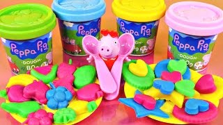 Peppa Pig Mega Dough Picnic Play Doh Lunchtime Fruits - Peppa Pig Videos With Toys