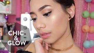 Chic & Glowing Neutral Make up Tutorial - Abel Cantika