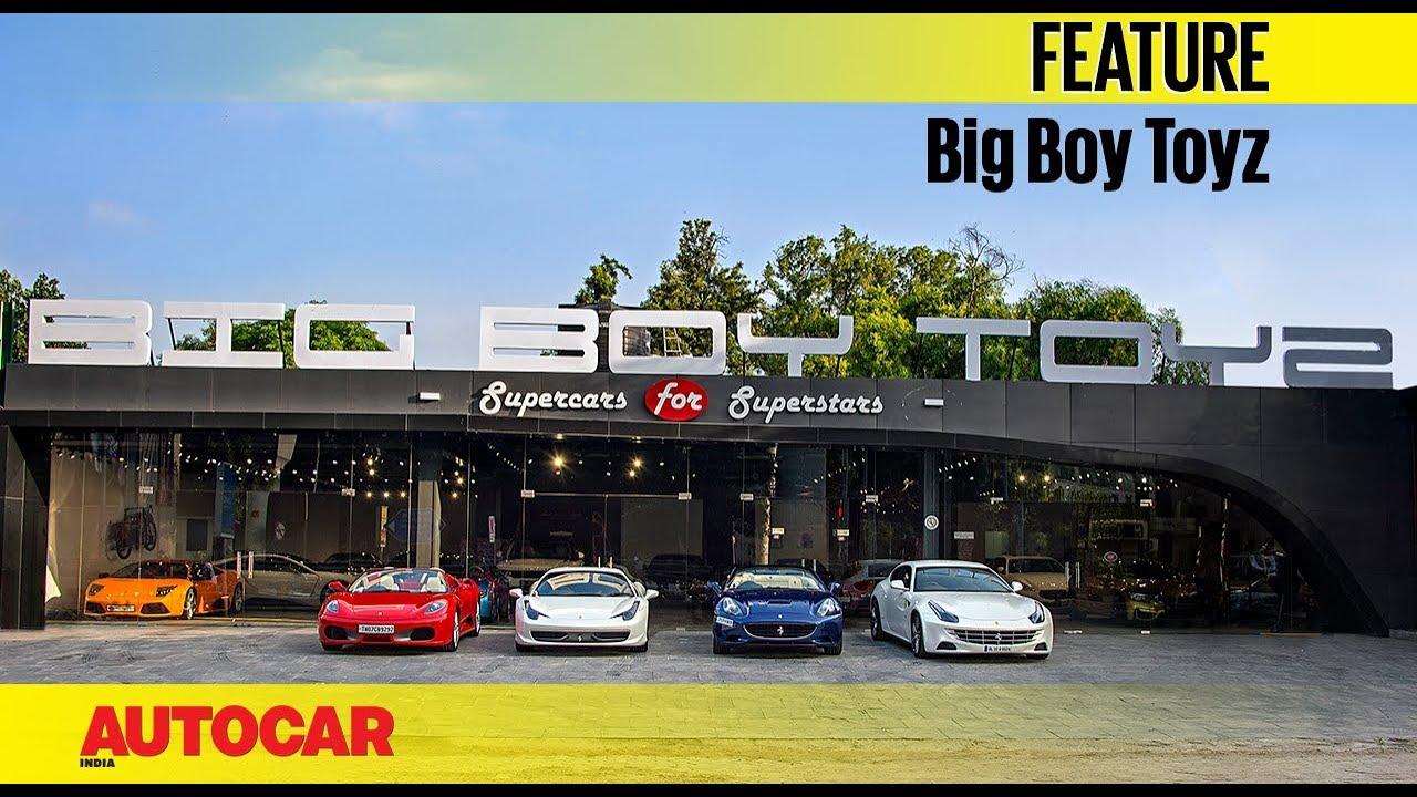 Big Boy Toyz : Big boy toyz buying a pre owned ferrari autocar india