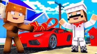 Minecraft Daycare - BUYING MY FIRST SUPERCAR! W/ MOOSECRAFT (Minecraft Kids Roleplay)