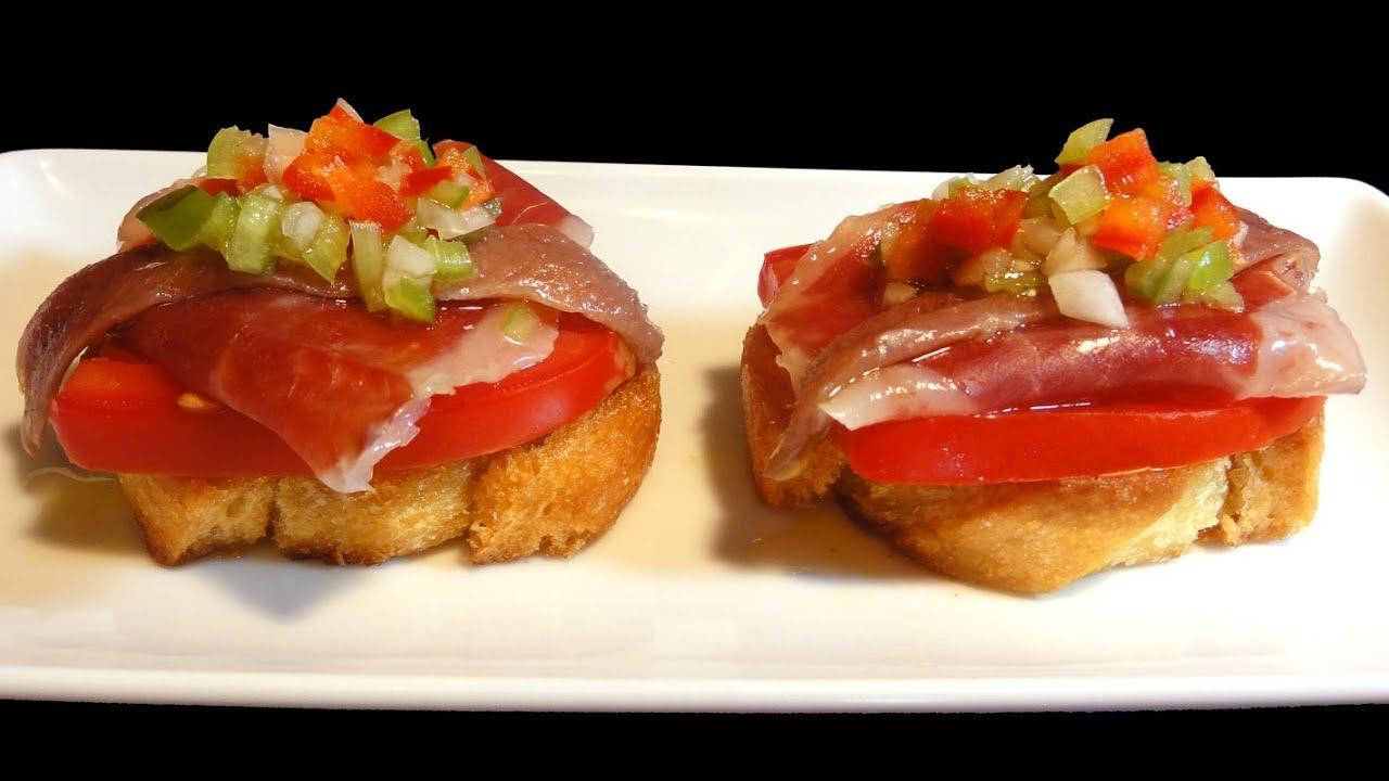 recetas de pintxos con jamon