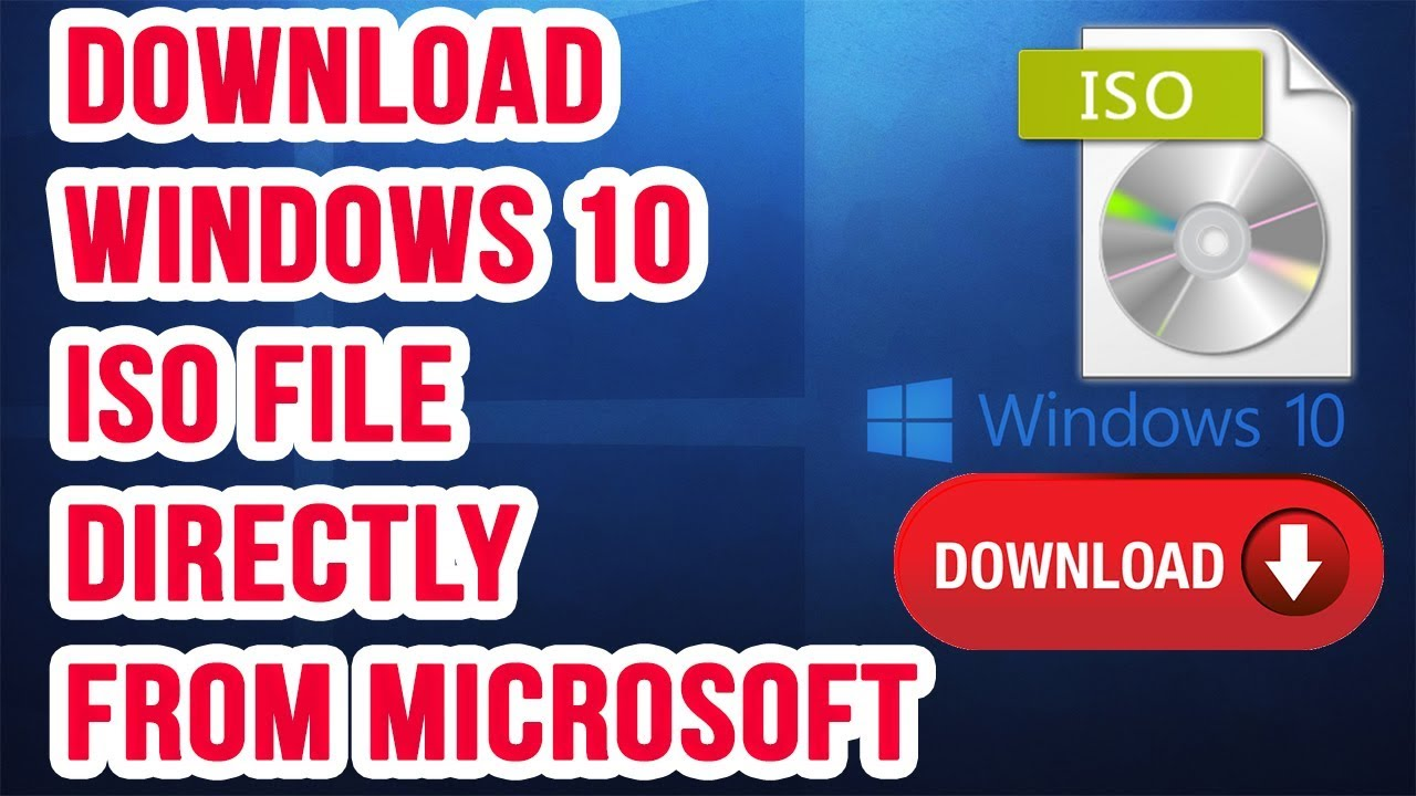 How To Download Windows 10 ISO April 2018 Update Directly from Microsoft  Servers