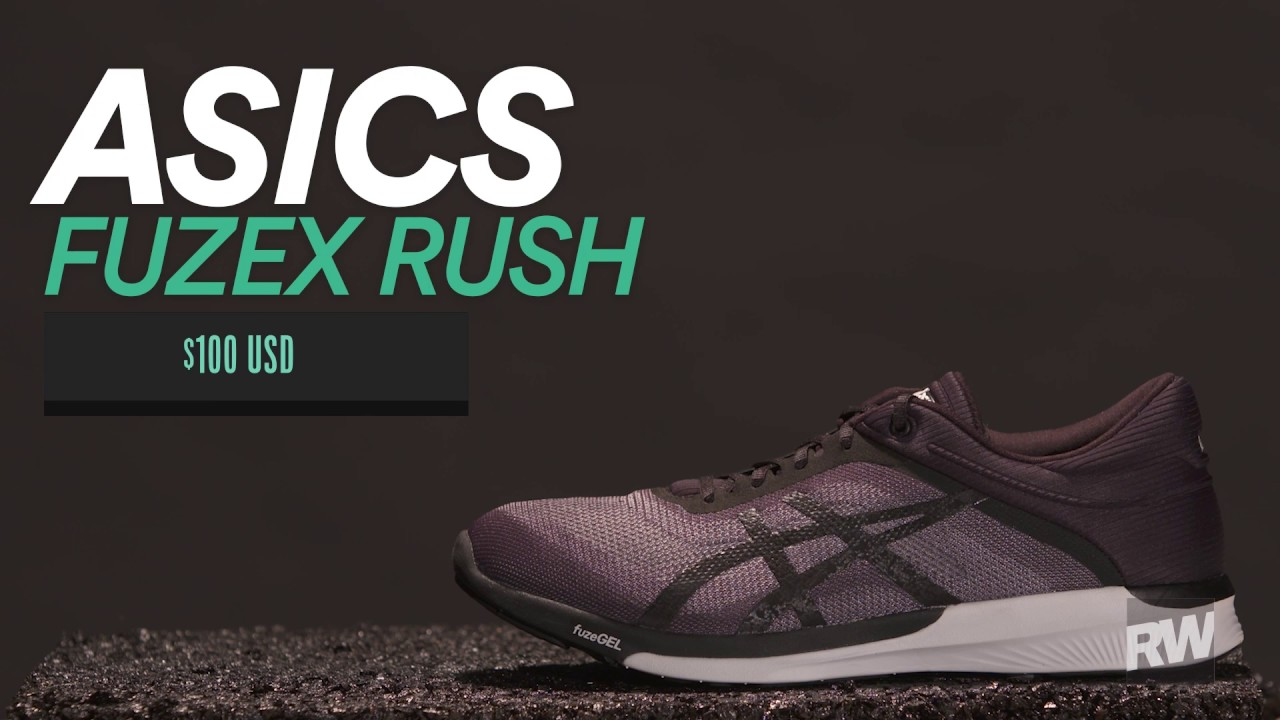 6d8778e118c 2017 Summer Shoe Guide  Asics FuzeX Rush - YouTube