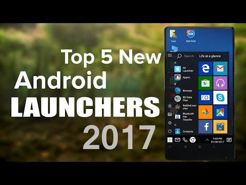 Top 5 New Coolest Android Launchers 2017!😍