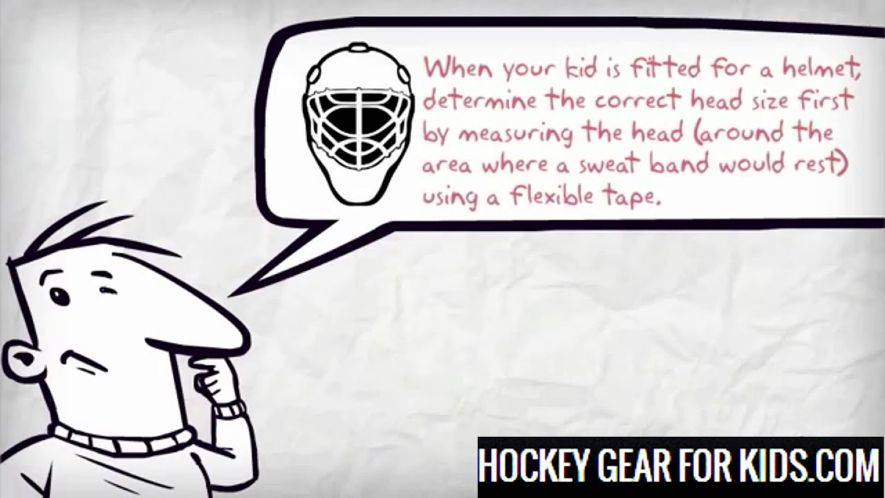 hockey gear for kids proper fitting guide youtube