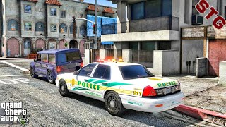 CVPI| MIAMI PD PATROL!!!| #109 (GTA 5 REAL LIFE PC POLICE MOD)