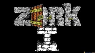 Zork - The Great Underground Empire gameplay (PC Game, 1982)