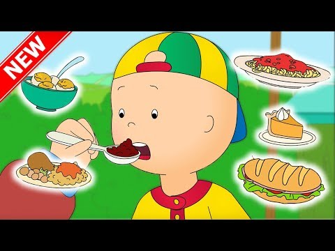 ★NEW★ Caillou and the FOOD FAIR | Funny Animated cartoon for Kids | Cartoon Caillou l Cartoon Movie