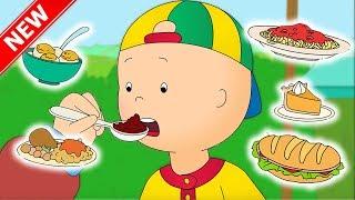 ★NEW★ Caillou and the FOOD FAIR | Funny Animated cartoon for Kids | Cartoon Caillou l Cartoon Movie
