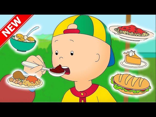 ★NEW★ Caillou and the FOOD FAIR   Funny Animated cartoon for Kids   Cartoon Caillou l Cartoon Movie