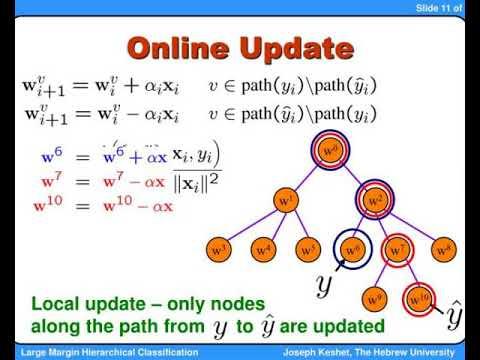an efficient online algorithm for hierarchical phoneme classification