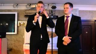 признание в любви на свадьбе 25 07 2015 ресторан Манилов ведущий Кирилл Щербинин