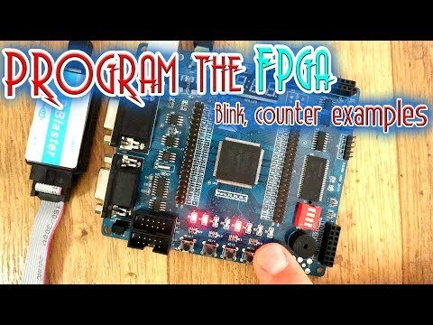Synthesis - Blink, Counter Examples   Road To FPGAs #103