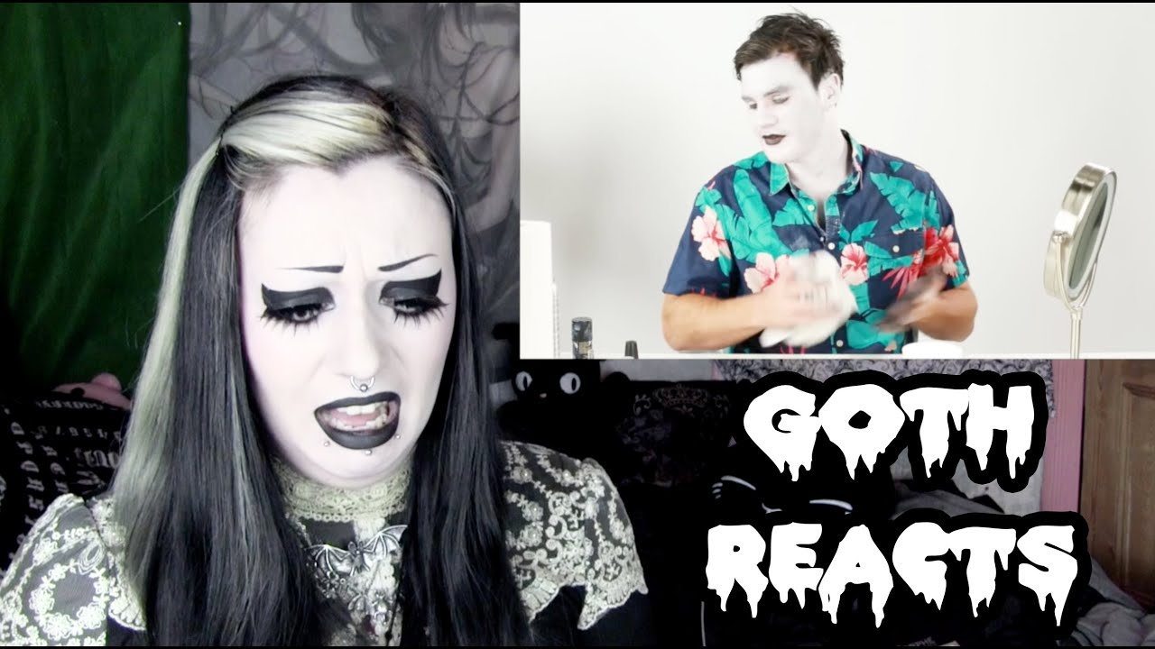 goth reacts to men try goth fashion for a week