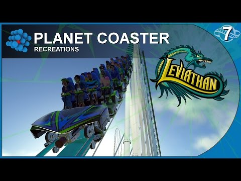 Planet Coaster - Recreations 07 - Leviathan - Canada's Wonderland - Canada