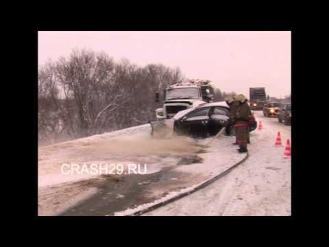 2 человека погибли в ДТП на северодвинской  трассе