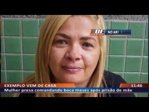 DF ALERTA - Mulher e cunhada pegas ao substituir mãe e irmã no tráfico