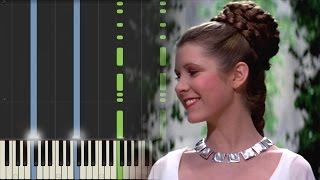 Star Wars: A New Hope - The Throne Room - Piano (Synthesia)