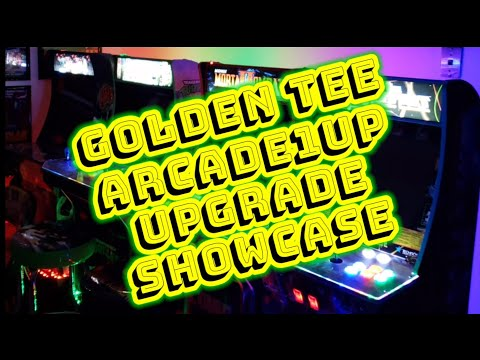 Golden Tee Arcade1up Upgrade Mod 2021 from Vaux Talks