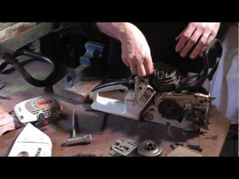 Geliebte Motorsäge Stihl 026 zerlegen, reinigen, zusammenbauen - YouTube &AY_88